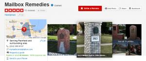 brick mailbox installer